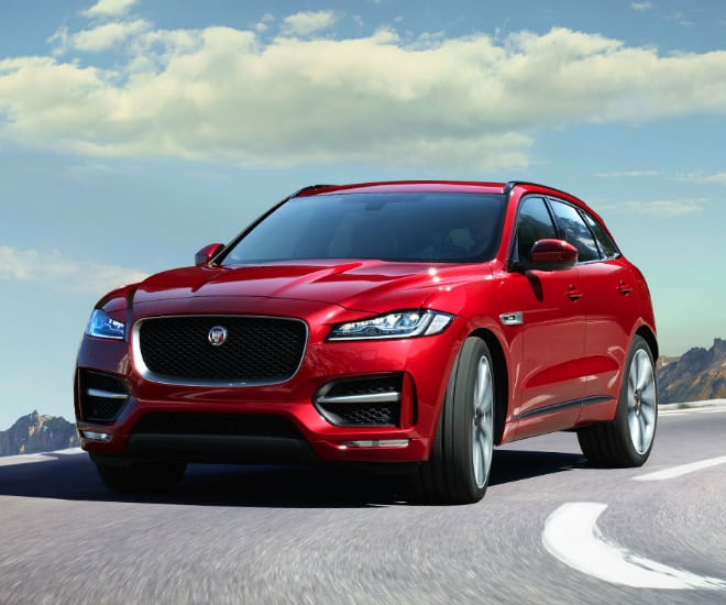 Jaguar Reveals Stunning F-Pace SVR Performance SUV