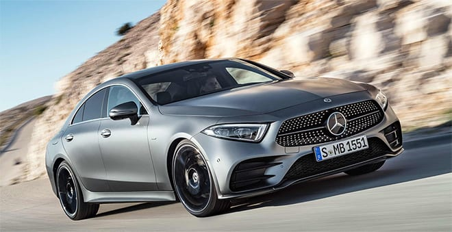 New Mercedes-Benz CLS 350 and CLS 450 4MATIC Unveiled at Singapore Wine Vault
