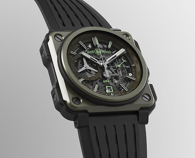 Bell & Ross Launch Limited Edition BR-X1 Military