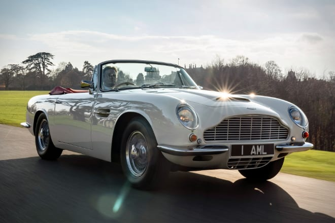 Aston Martin To Retrofit Old Models With Brand New Electric Powertrains